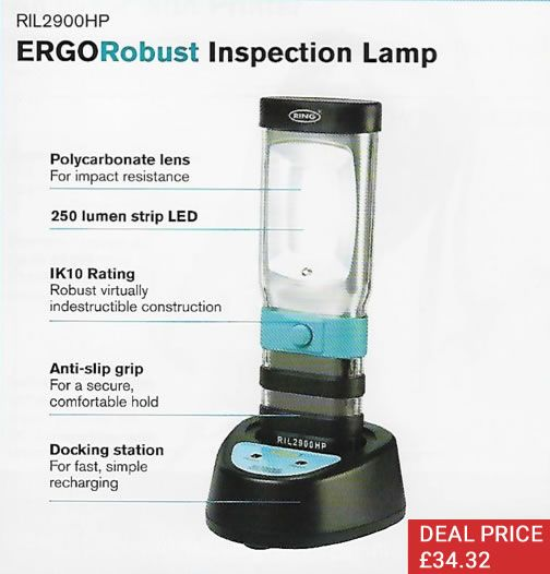 ERGORobust Inspection Lamp