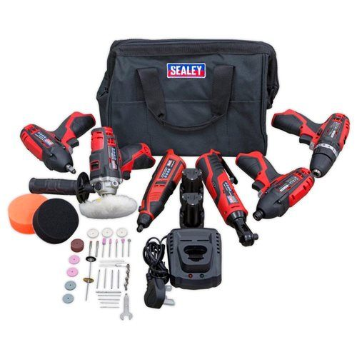 Series 6 x 12V Cordless Power Tool Combo Kit