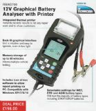 12V Graphical Battery Analyser with Printer