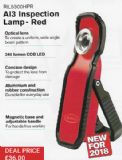 AI3 Inspection Lamp - Red