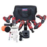 Series 6 x 12V Cordless Power Tool Combo Kit
